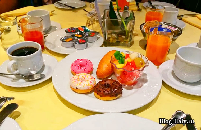 Завтрак в круизе