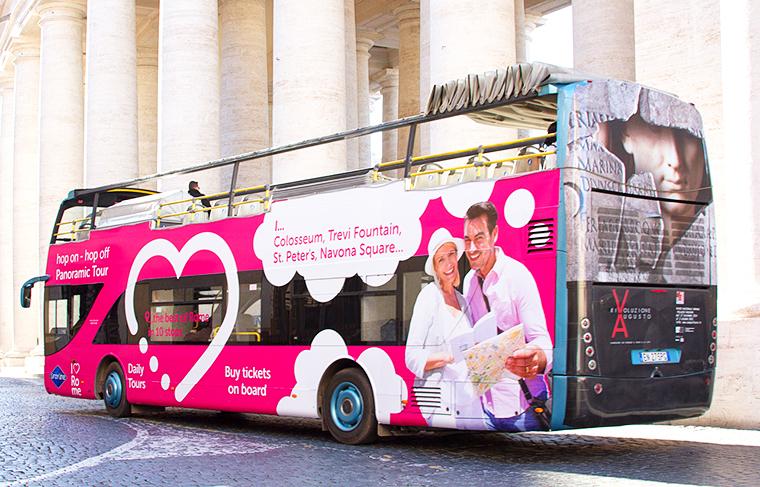 Экскурсионный автобус Grayline Tours (I Love Rome)